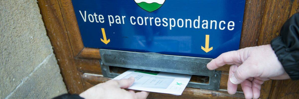 Vote par correspondance, de la peur à la confiance : l'exemple de la Suisse ! [R. Rambaud]