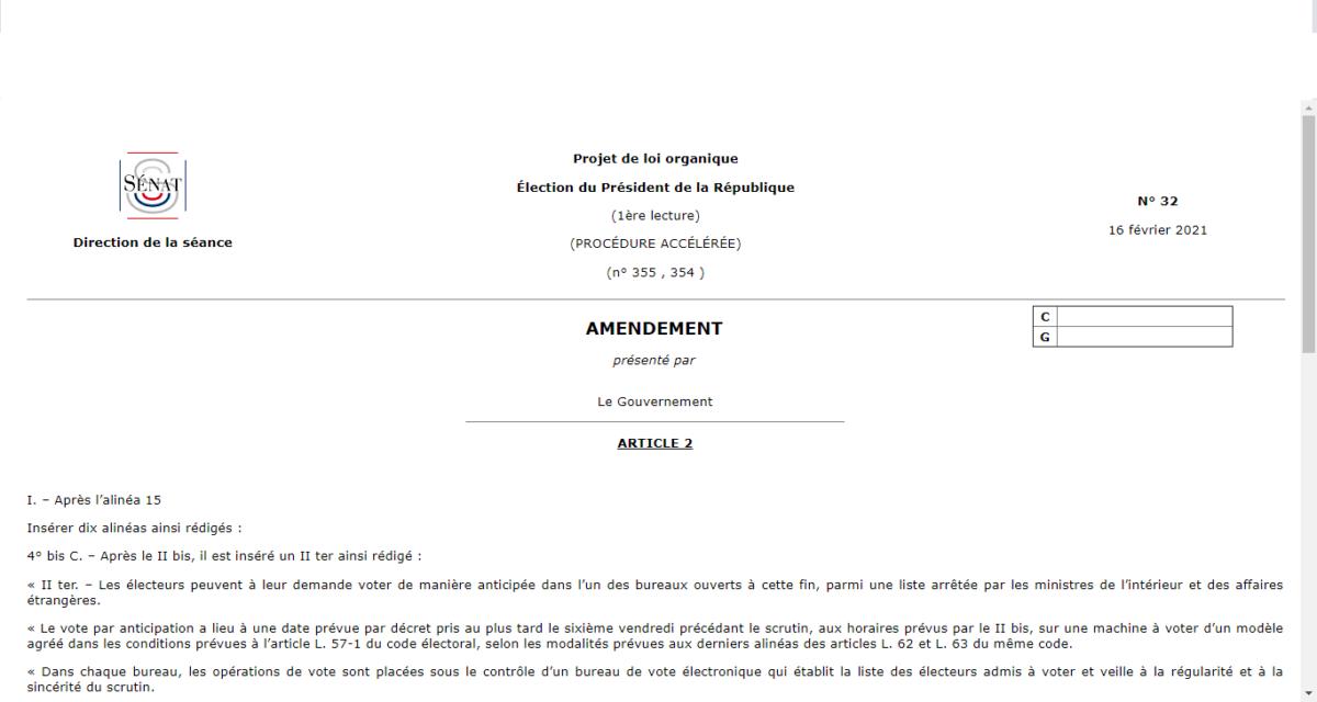 Une opportune «surprise jupitérienne» pour l'élection présidentielle : le Gouvernement se convertit au vote anticipé ! [R. Rambaud]